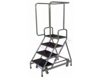 Retractable Wheels Step Stool